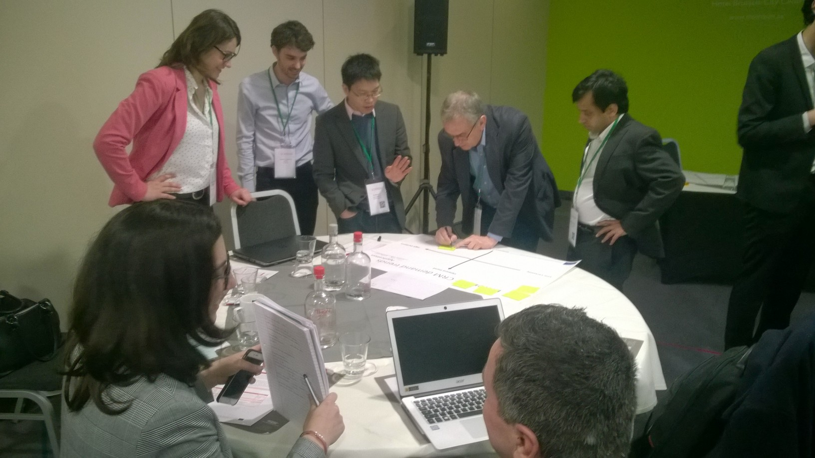 SCRREEN project partners engaging during Expert Group (EG) meeting 2018