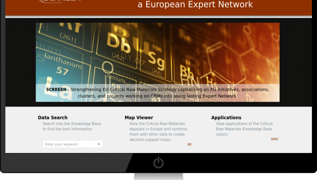 A look at the SCRREEN EU CRM Knowledge Base webpage